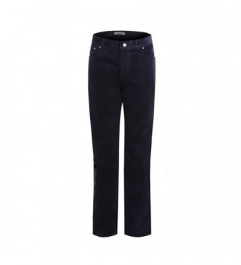 ForeMode Corduroy Straight Pants Trousers