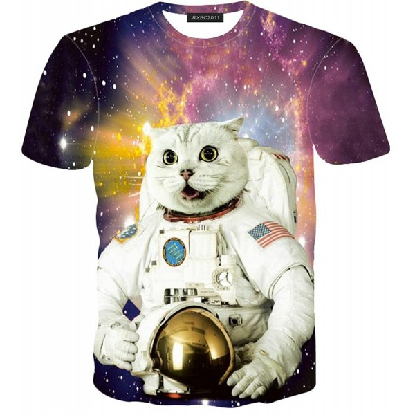 RXBC2011 Universe Astronaut Sleeve T shirts
