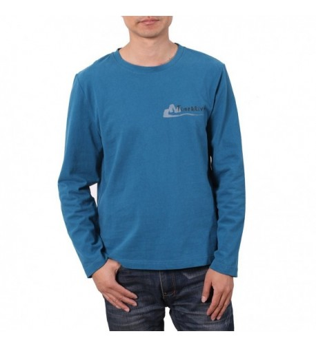 Time River Sleeve Breathable T shirts