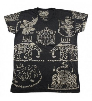 Tattoo elephant turtle T Shirt WK01 2
