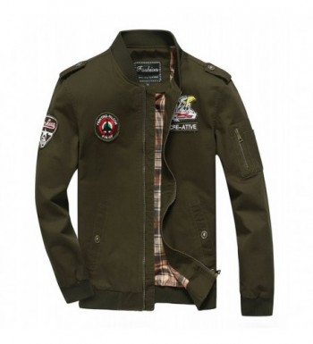 Cheerun Bomber Military Lightweight Jackets