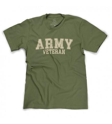 United Veteran Distressed Military T Shirt