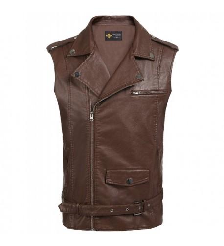 JINIDU Hipster Leather Motorcycle Jacket