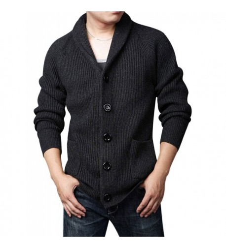 Yeokou Knitted Cardigan Sweaters Pockets