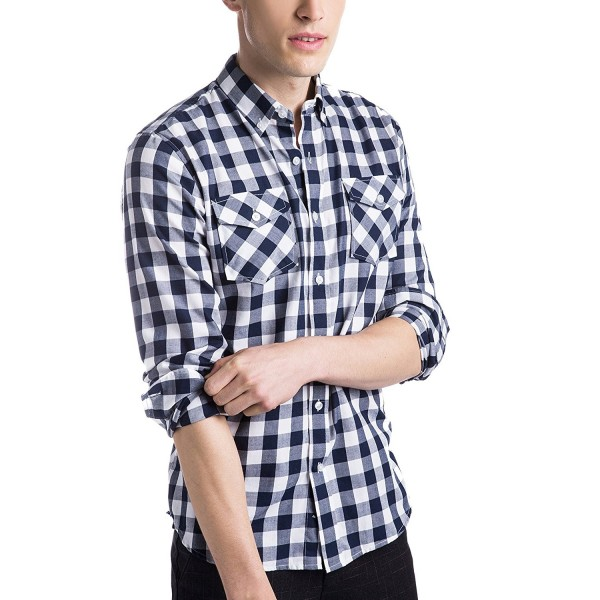 Z KANG Casual Sleeve Button XX Large