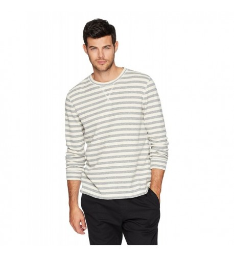 Something Everyone Crewneck Stripe Stretchable