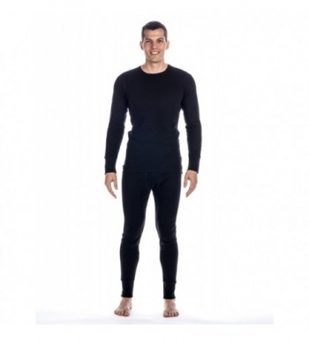 Mens Classic Waffle Thermal Bottom