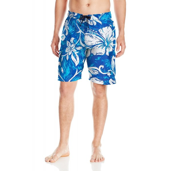 Hawke Co Printed Elastic Hawaiian