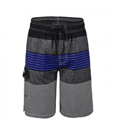 Nonwe Swimwear Quick Striped Trunks