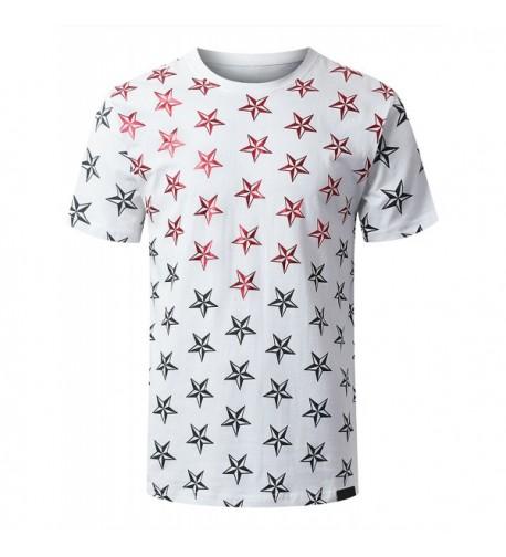 URBANCREWS Hipster Print Graphic T Shirt