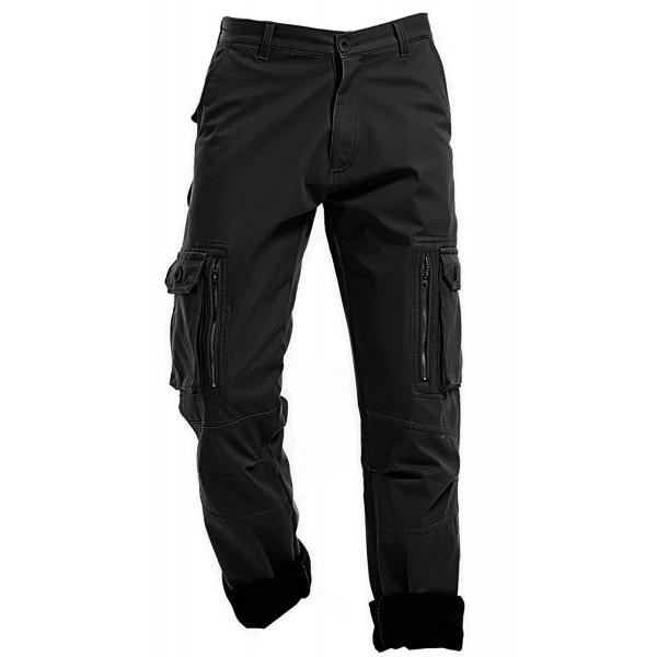 AIZESI Thicken Winter Fleece Trousers