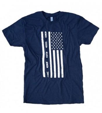 USA Flag Rugby T Shirt L