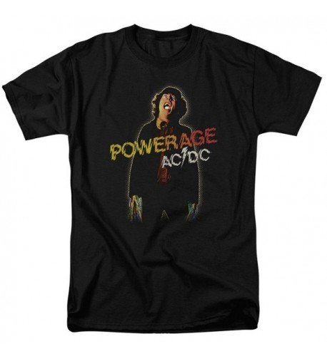 AC DC Powerage T Shirt Medium