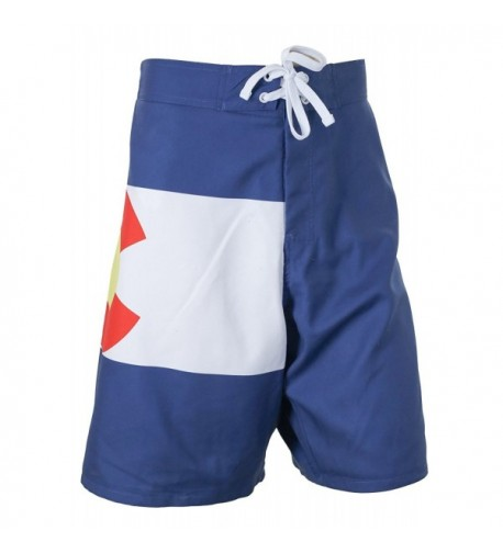 Colorado Flag Board Shorts Medium