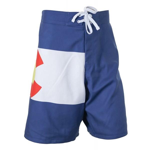 Colorado Flag Board Shorts Medium