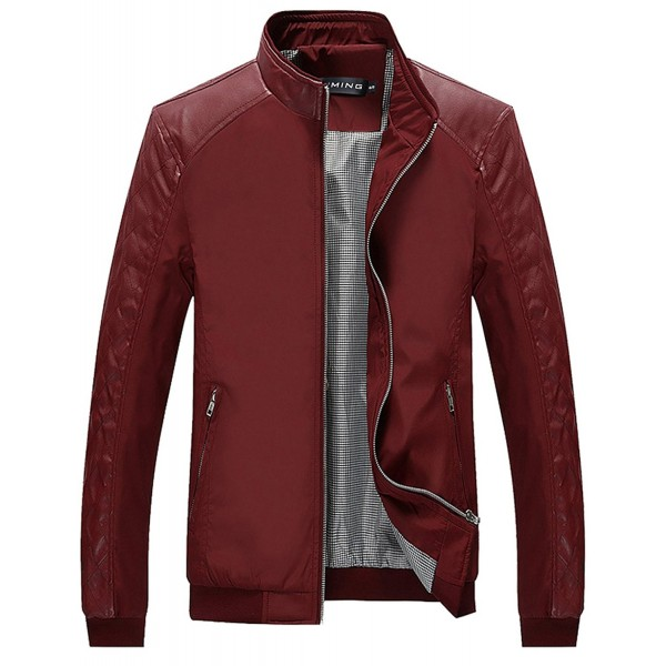 Tanming Color Block Casual Jacket