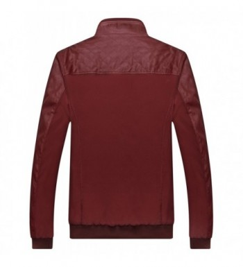 Designer Men's Faux Leather Jackets for Sale