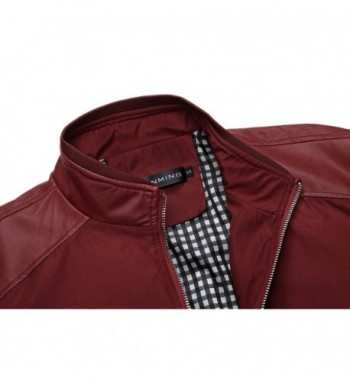 Cheap Real Men's Faux Leather Coats Clearance Sale