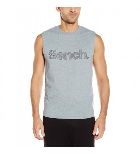 Bench SEARING Sleeveless T Shirt Stormy