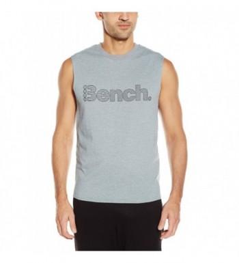 Bench SEARING Sleeveless T Shirt Stormy