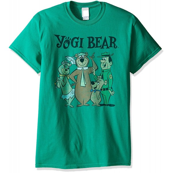 Yogi Bear T Shirt Kelly Large