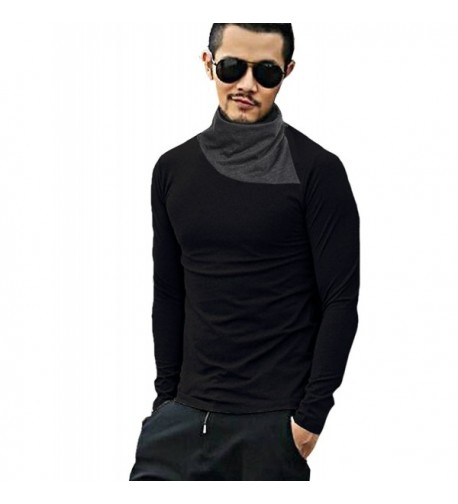 Coofandy Turtleneck Thermal T Shirts Pullover