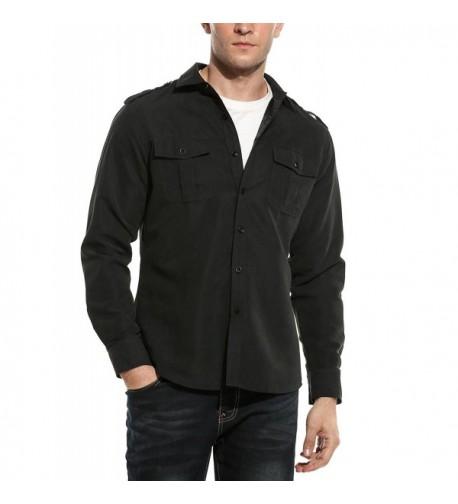 Coofandy Casual Sleeve Button Fashion