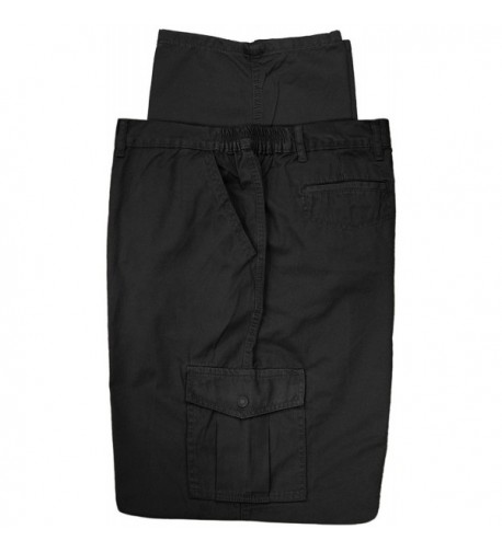 Cargo Pants Cotton Full Blue