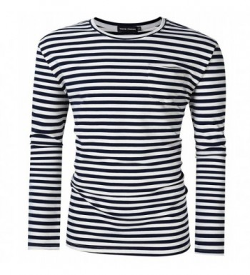 Yong Horse T Shirts Pocket Striped