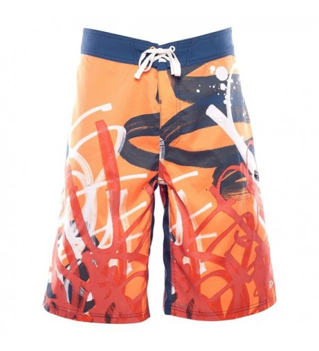 Dry Dudz Boardshort Separate Orange