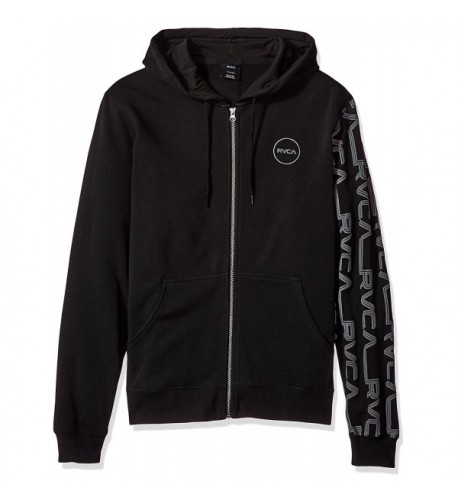 RVCA Lobitos Zip up Hoodie Black