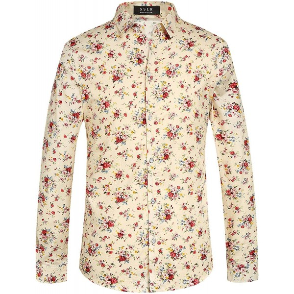 SSLR Floral Cotton Casual Sleeve
