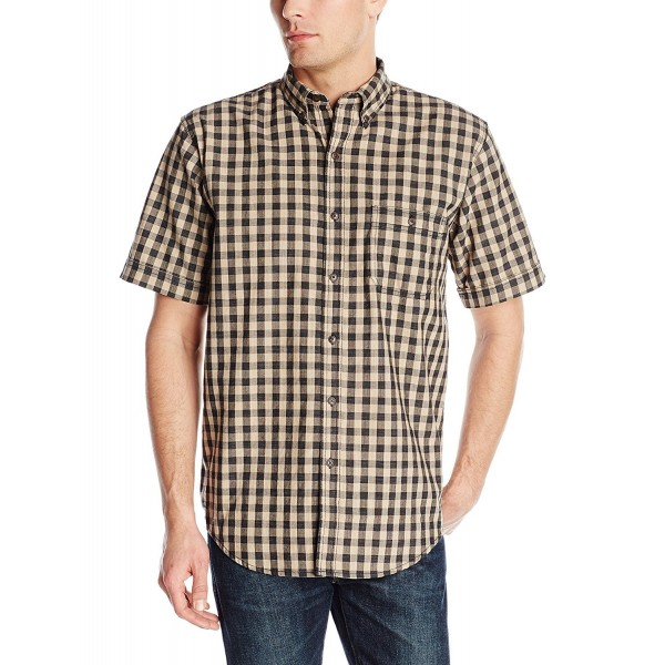 Arrow Sleeve Textured Gingham Medium