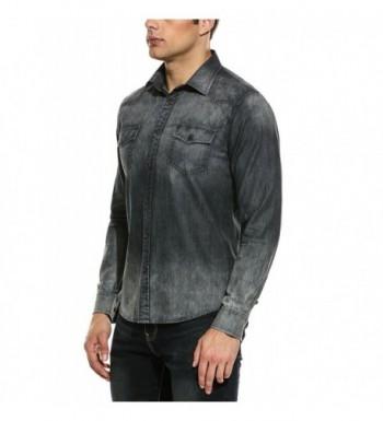 Cheap Real Men's Casual Button-Down Shirts
