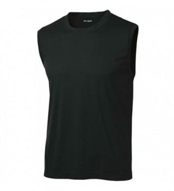 DRI EQUIP Sleeveless Moisture Wicking T Shirt Black XL