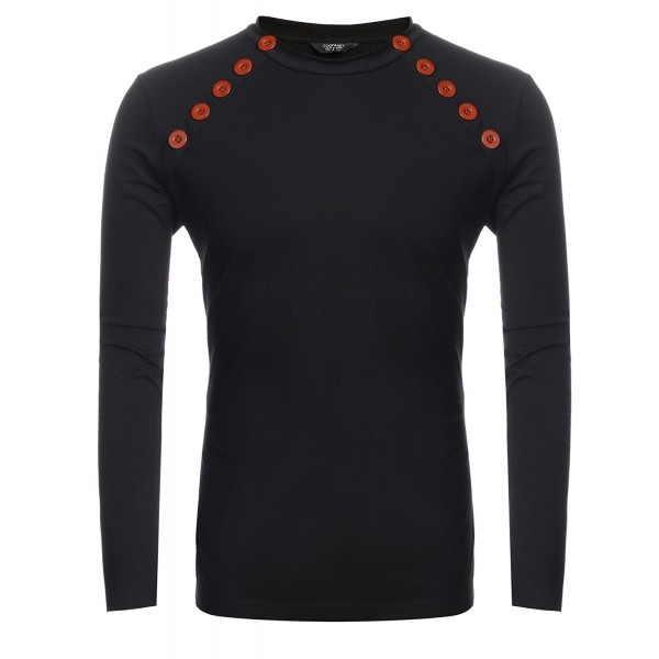 Coofandy Casual Sleeve Breasted Pullover