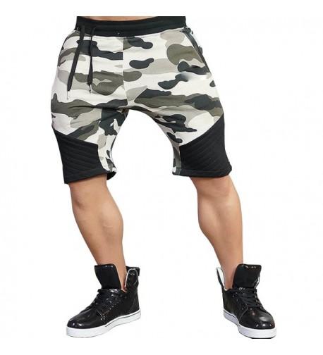 BigRabbit Tapered Workout Jogger Shorts