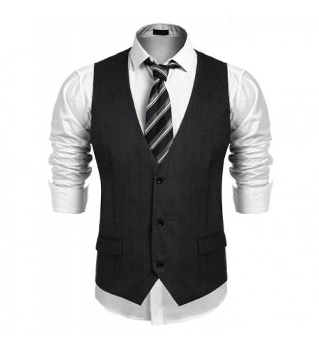 Jinidu Business Skinny Wedding Waistcoat