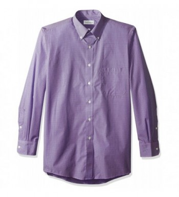 Van Heusen Regular Gingham Amethyst