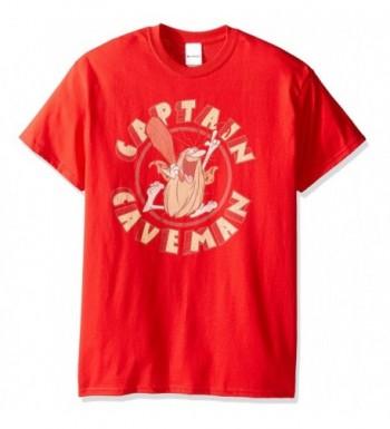 Captain Caveman Mens Circle T Shirt