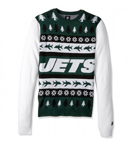 KLEW Block Sweater Large Green