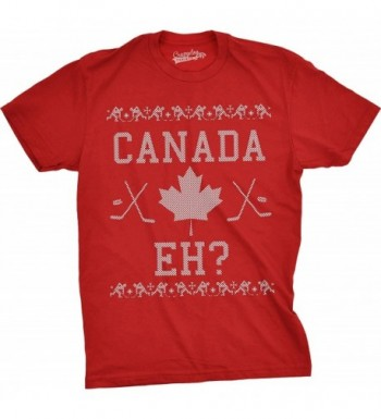 Canada Christmas Sweater Canadian Holiday