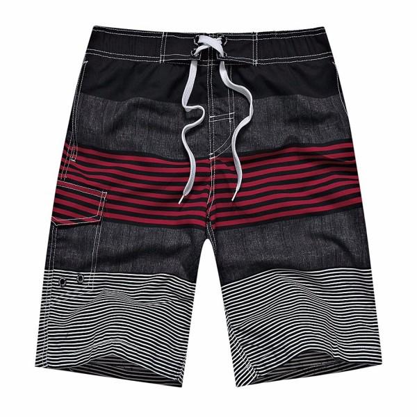 ZIITOP Trunks Shorts Striped Sportwear