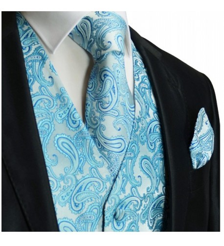 Paul Malone Wedding Turquoise Paisley