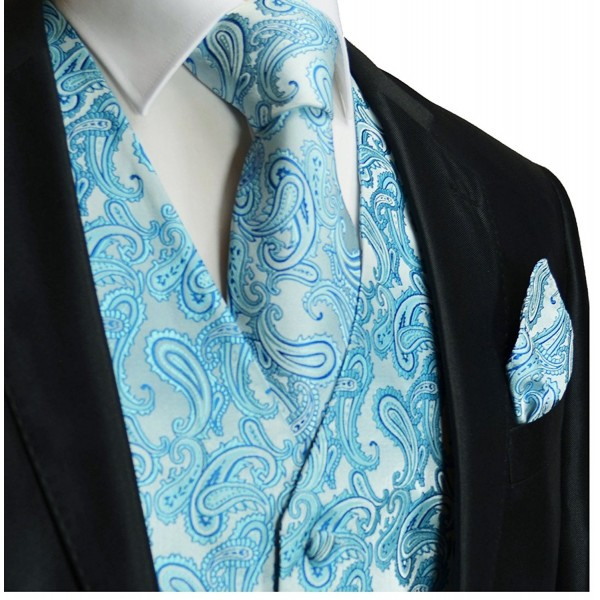 Paul Malone Wedding Turquoise Paisley