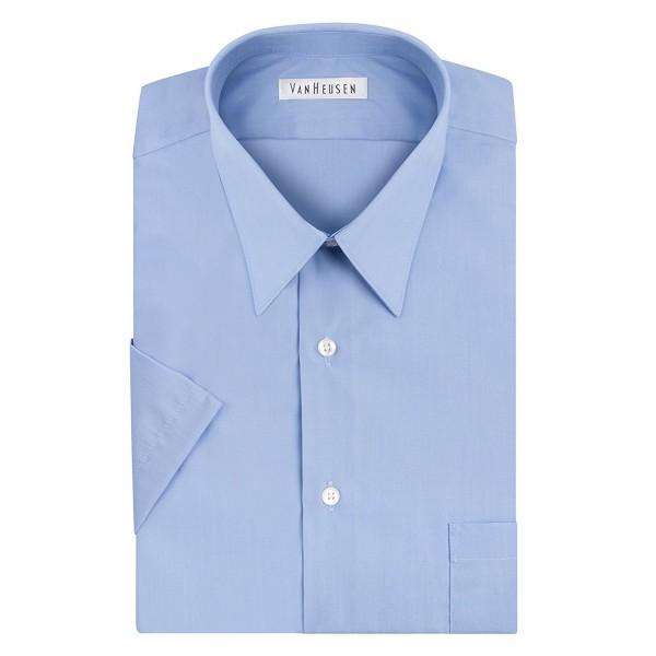 Van Heusen Sleeve Poplin Collar