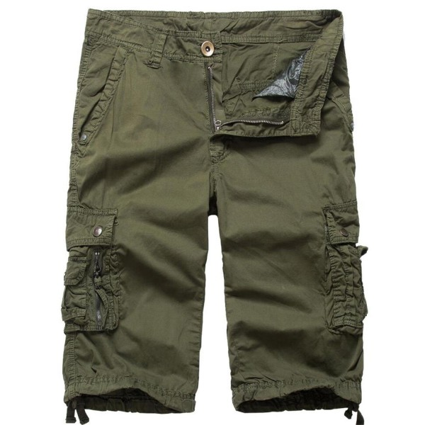 HHGKED Outdoor Casual Shorts Army green 36