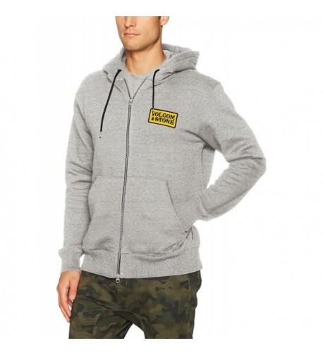 Volcom Mens Shop Fleece Grey
