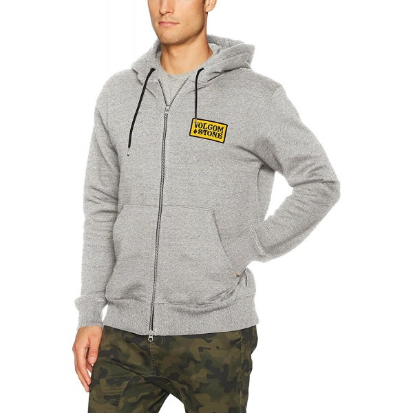 Volcom Mens Shop Fleece Grey