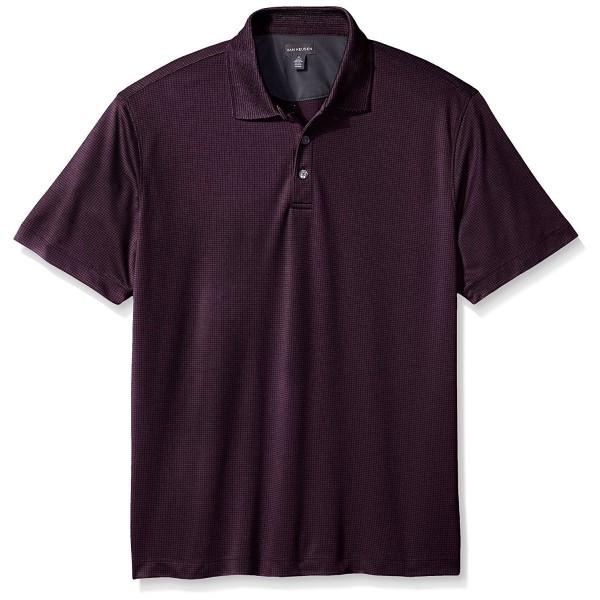 Van Heusen Short Sleeve Purple